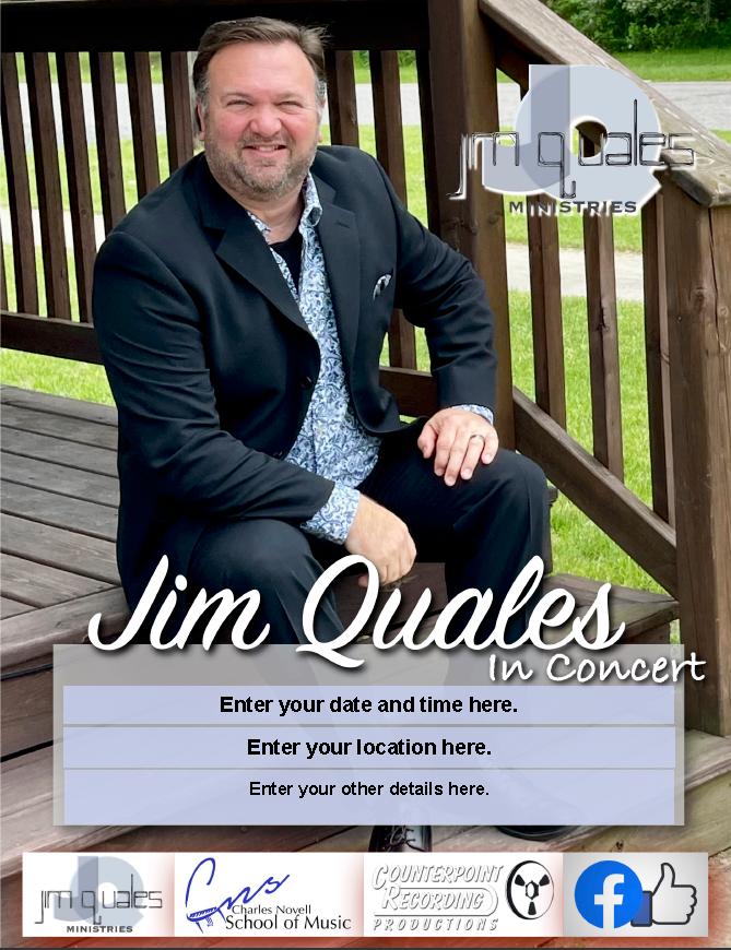 Jim Quales color poster